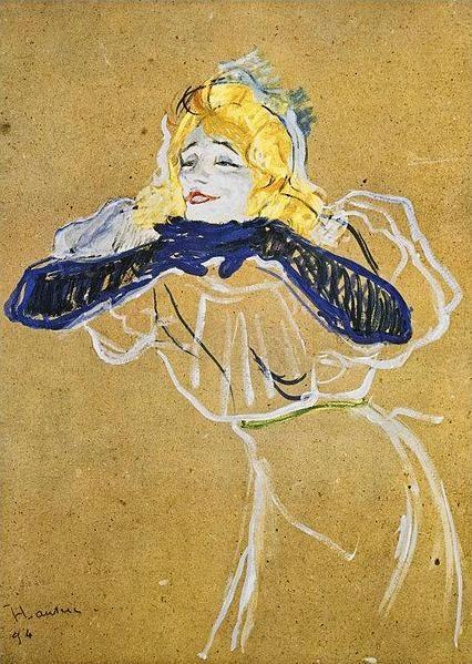 Frey Julia,Toulouse-Lautrec, Okres ochronny na czarownice, Carmaniola