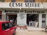GESSO SEGURO E MATERIAIS PARA CONSTRUÇÃO