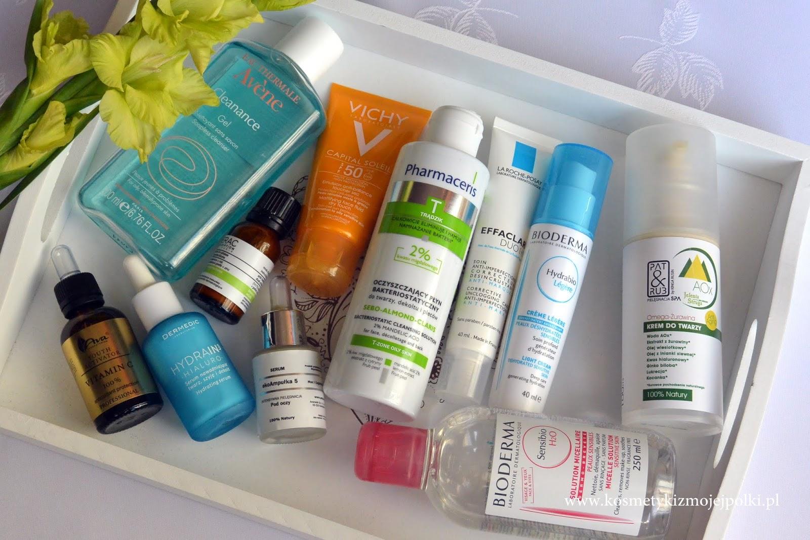 Ulubieńcy ostatnich miesięcy - pielęgnacja twarzy | wrzesień 2015