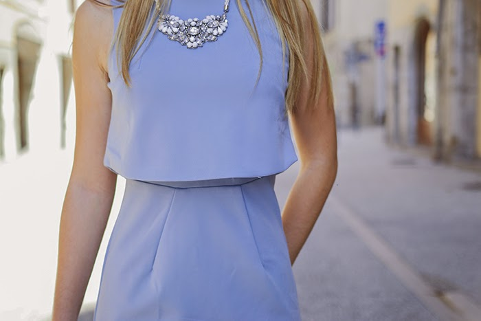 baby blue dream dress