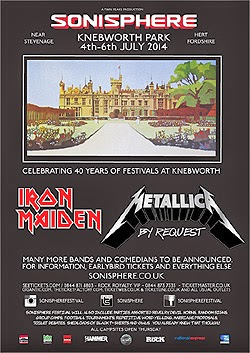 Sonisphere UK 2014