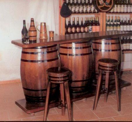 La web de la decoracion y el mueble en la red barriles y for Bares madera modelos