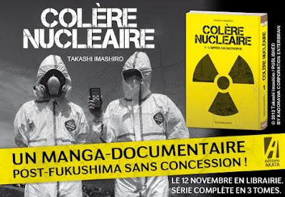 Actu Manga, Akata, Colère Nucléaire, Critique Manga, Documentaire, Fukushima, Japon société, Manga, Seinen, Société, Tsunami,