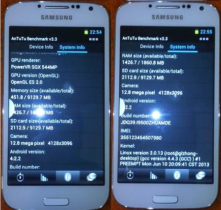 membandingkan smartphone asli dan palsu