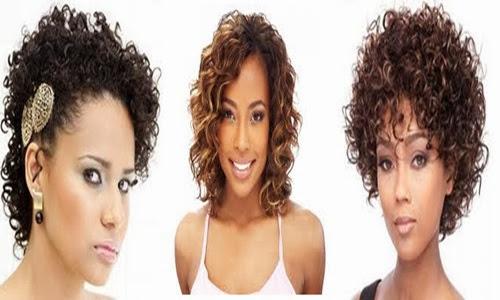 Fotos de cortes de cabelos crespos 1