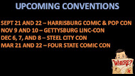 Upcoming Conventions