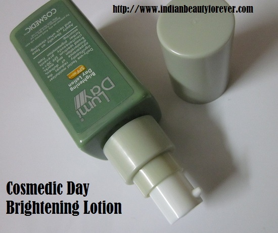 Cosmedic Lumi Day Brightening Lotion Review