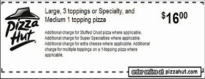 pizza hut printable coupons