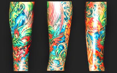 Tattoos de Dragão em Mulheres