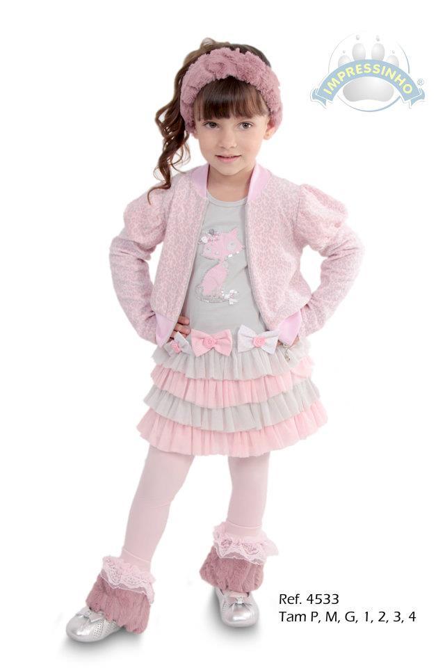 moda infantil impressinho