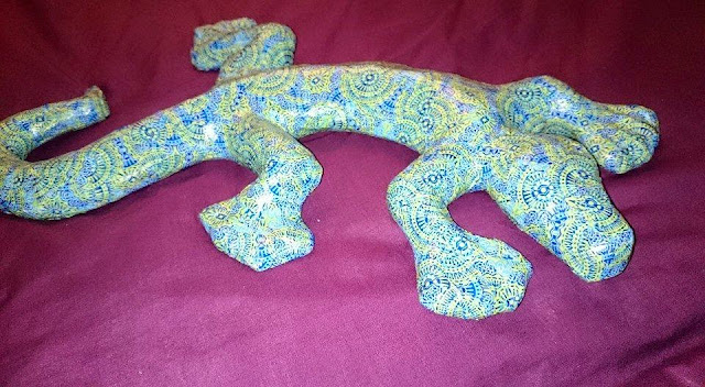 Creative Make ......  Decopatch Salamander