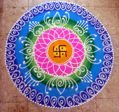 Diwali Rangoli Designs images download