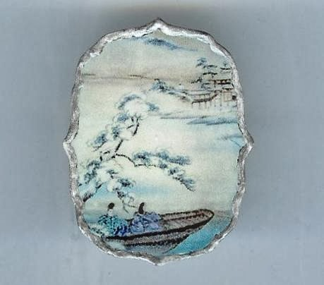 Japanese Boat Brooch