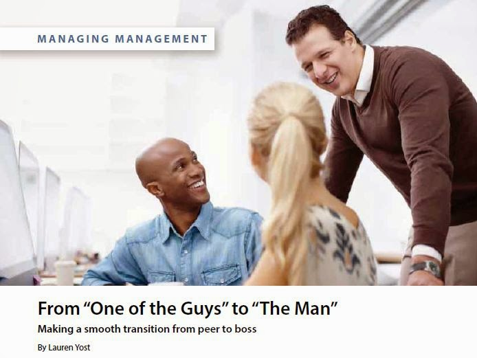 From One of the Guys to The Man by Lauren Yost