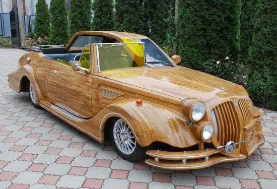Mobil Yang Terbuat Dari Kayu
