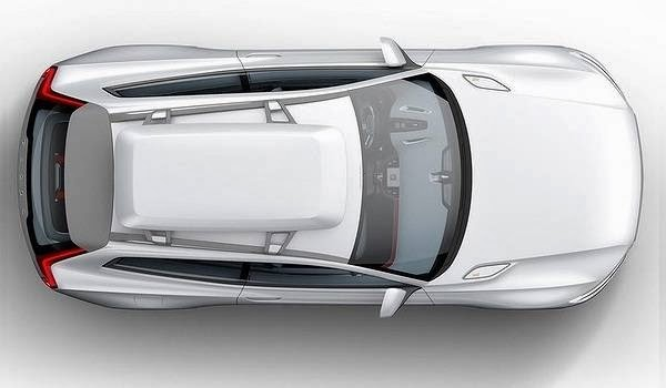 Concept XC Coupe top view