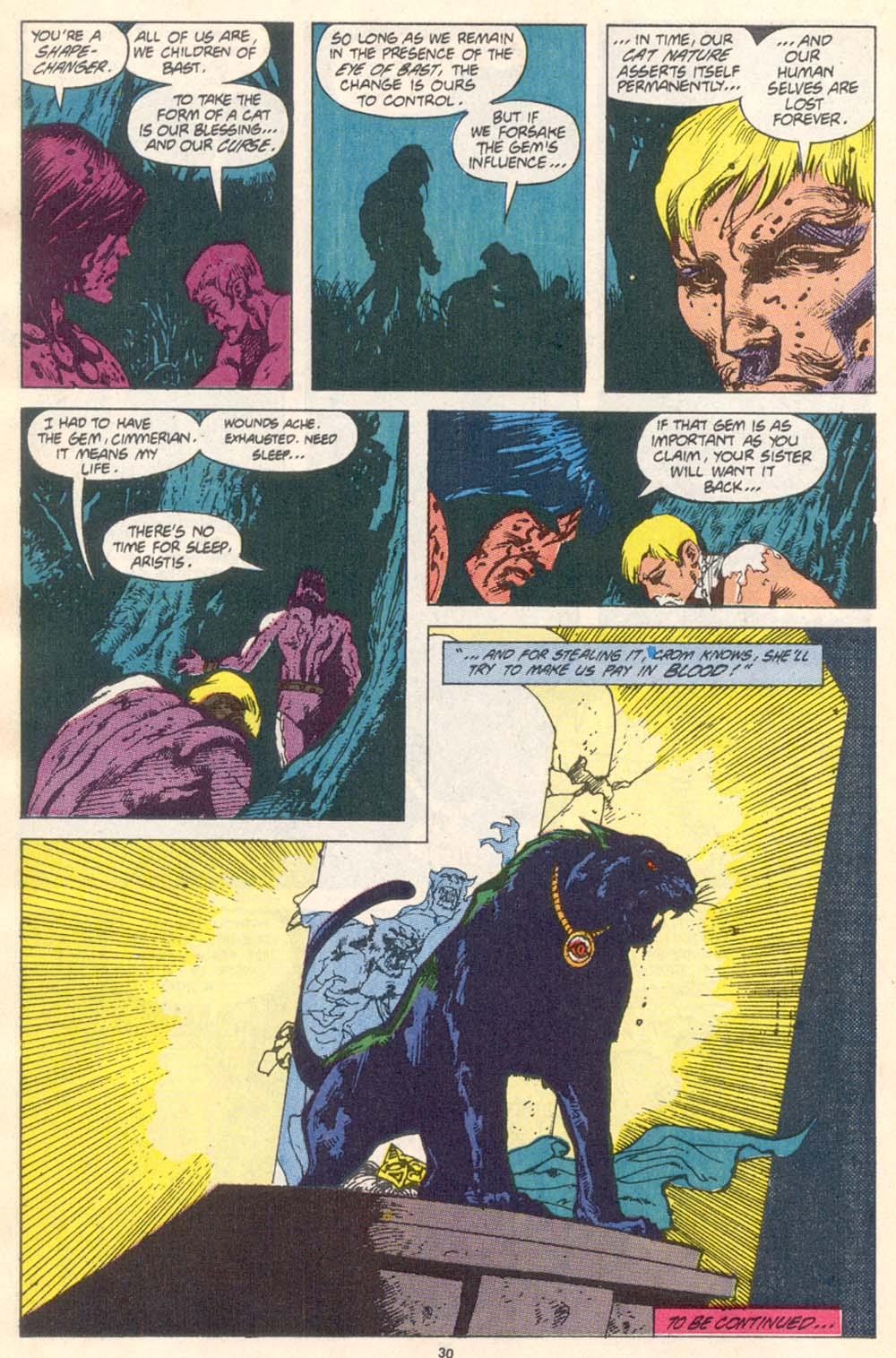 Conan the Barbarian (1970) Issue #226 #238 - English 23