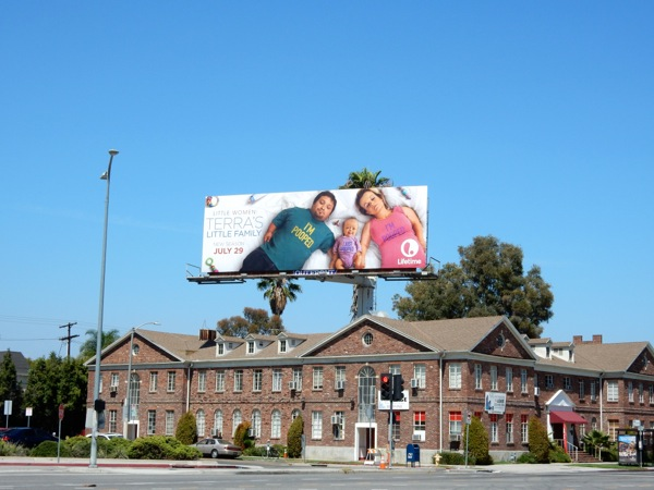 Terra's Little Family baby billboard