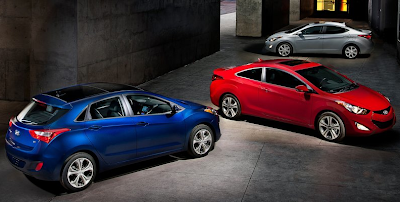 2013 Hyundai Elantra GT sedan and coupe