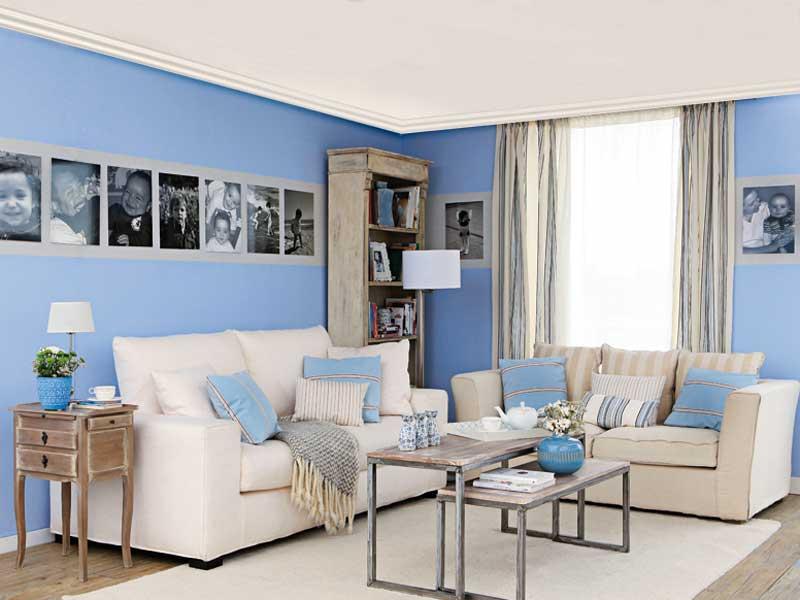 Plantar decorar dicas de paisagismo e decora o for Pintura pared gris azulado