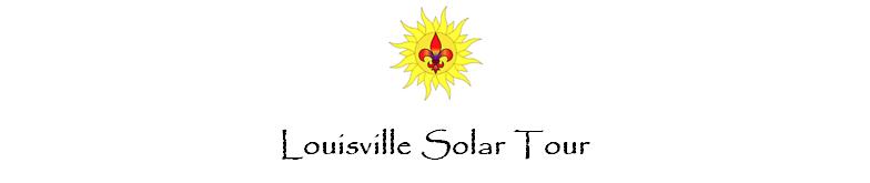 Louisville Solar Tour
