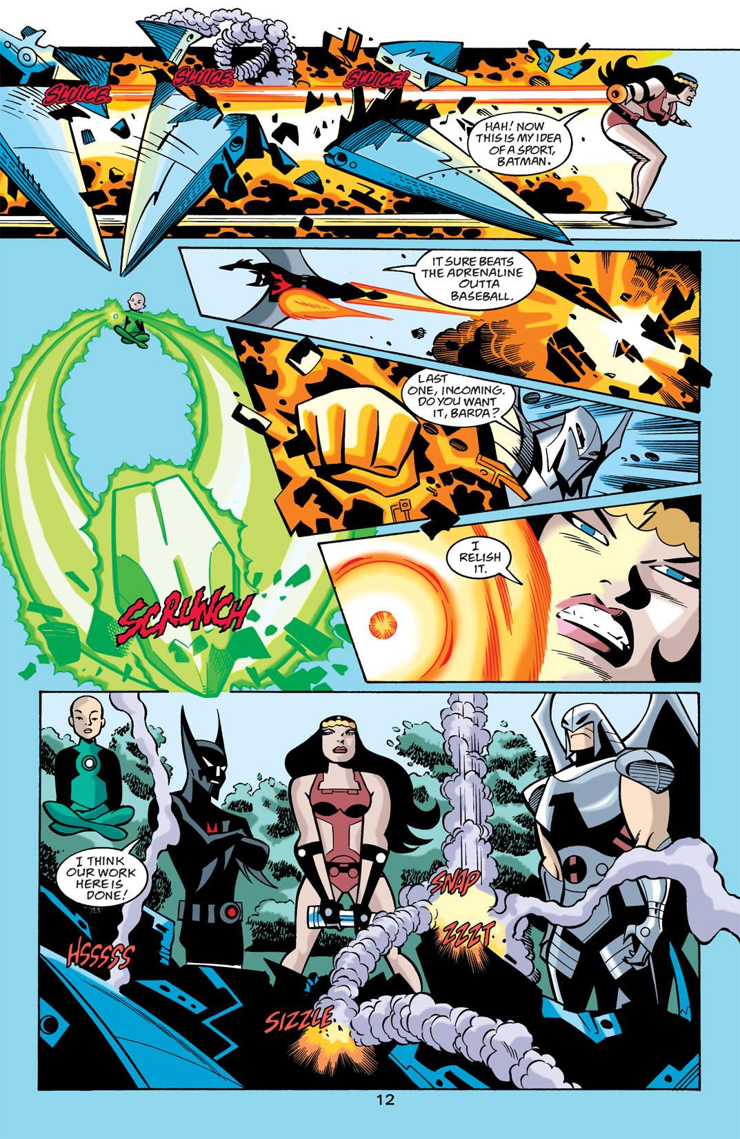 Batman Beyond [II] Issue #21 #21 - English 13
