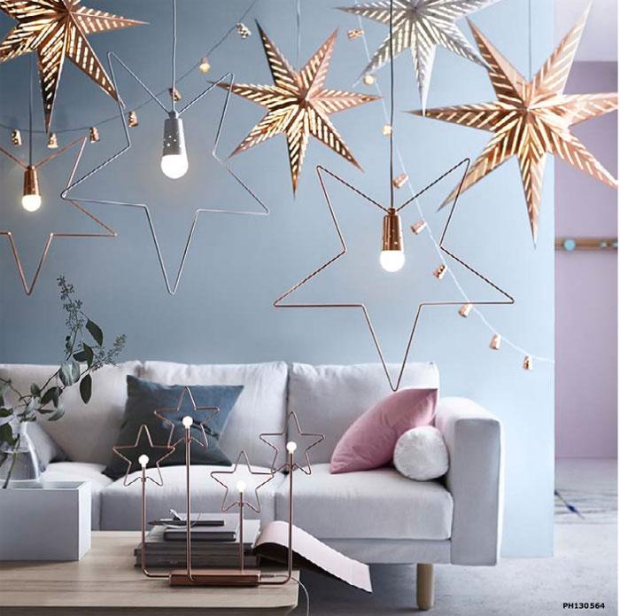 Ikea decoration table noel