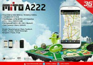 Mito A222 Harga Dan Spesifikasi