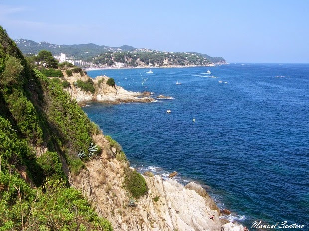 Lloret de Mar, veduta panoramica