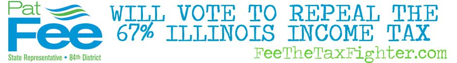 Pat Fee Supports a Repeal of the Illinois Income Tax