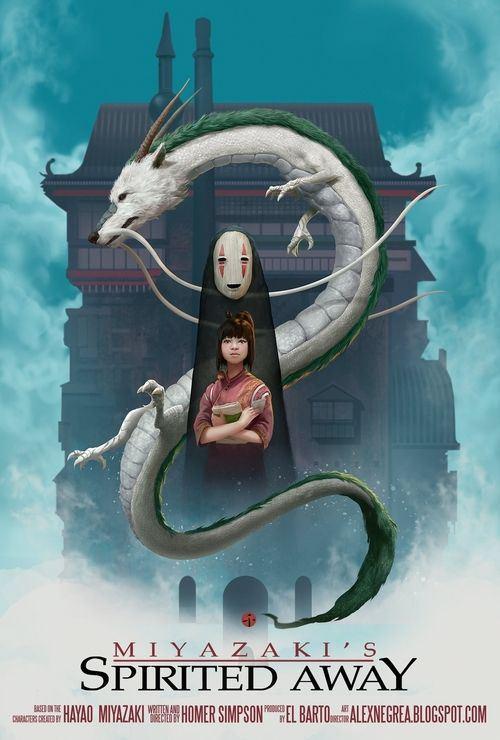 Studio Ghibli, Spirited Away, Spirited Away in real life