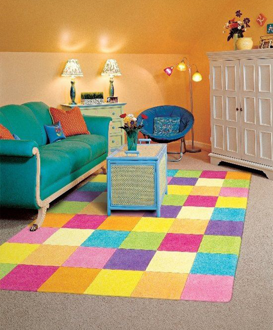 Color Full Interior Ideas For Kids