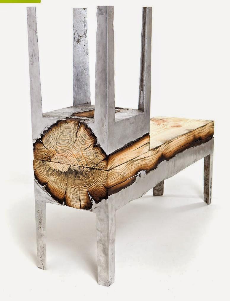 Arredo in mobili in legno e metallo di design for Design di mobili in legno italiano