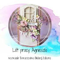 Lift pracy Agnieszki