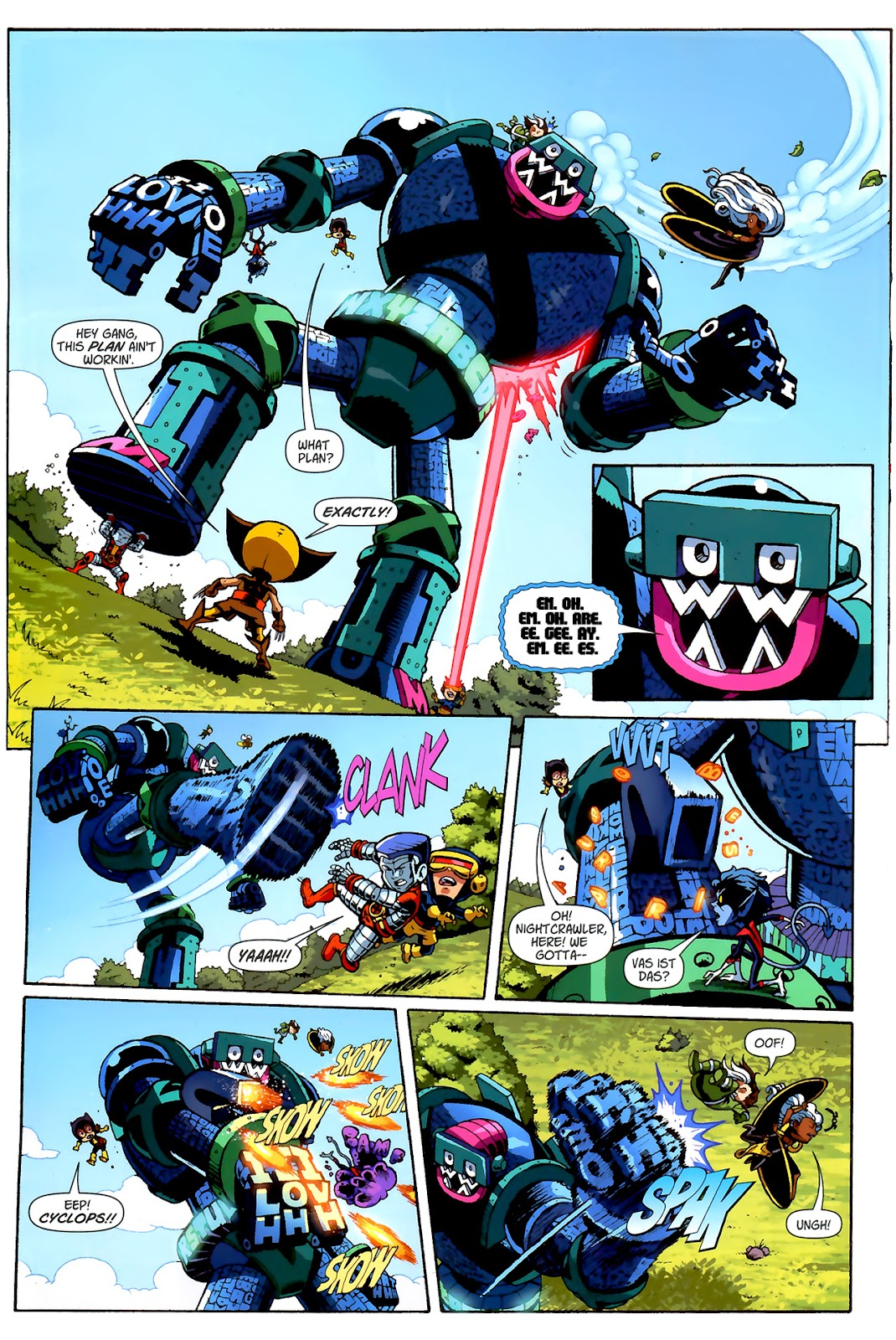 Read online X-Babies comic -  Issue #2 - 19