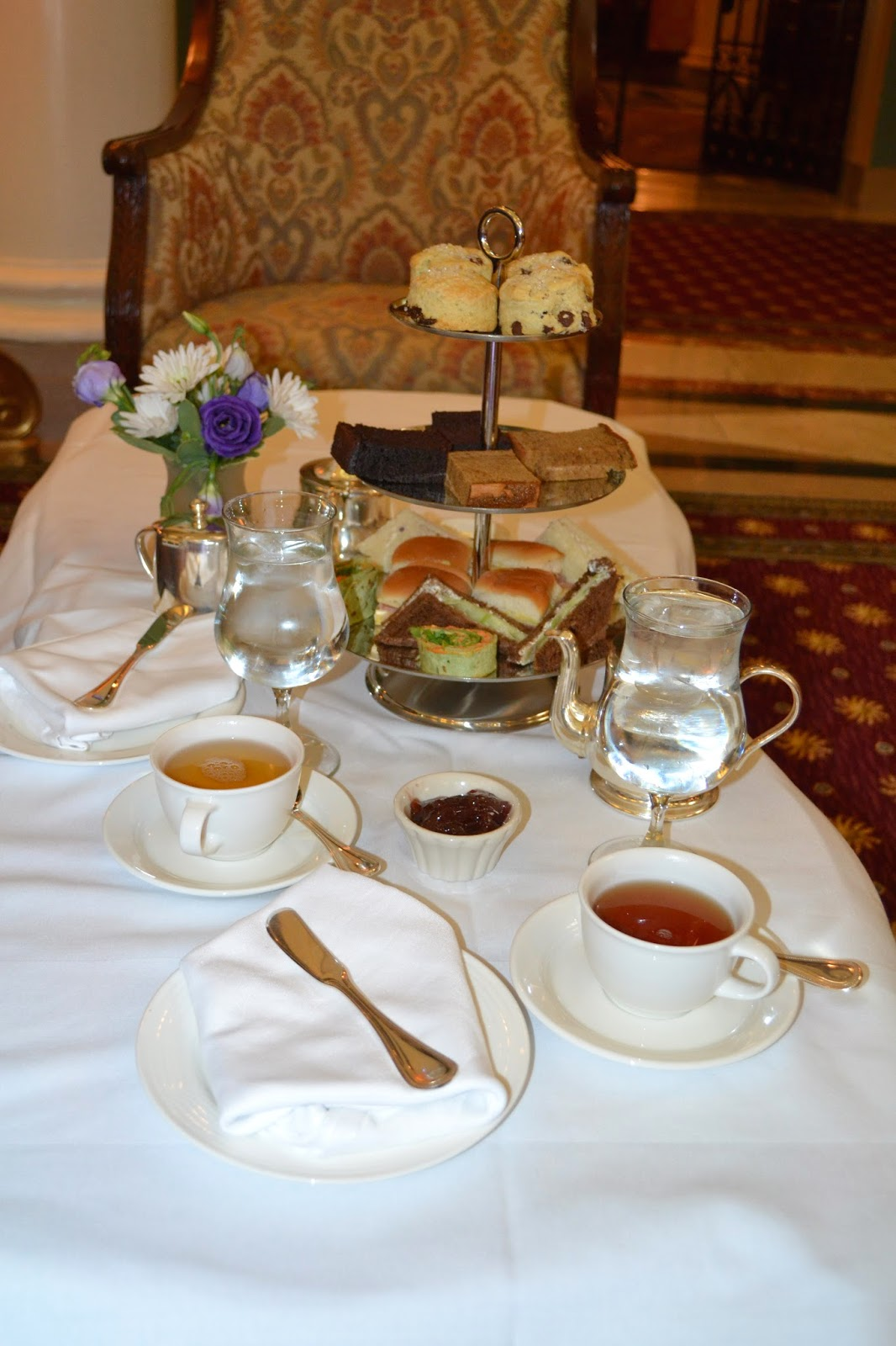 Afternoon Tea at the Jefferson Hotel
