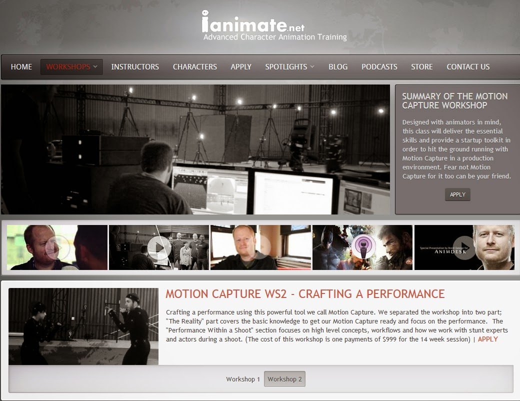 http://www.ianimate.net/workshops/motion-capture.html