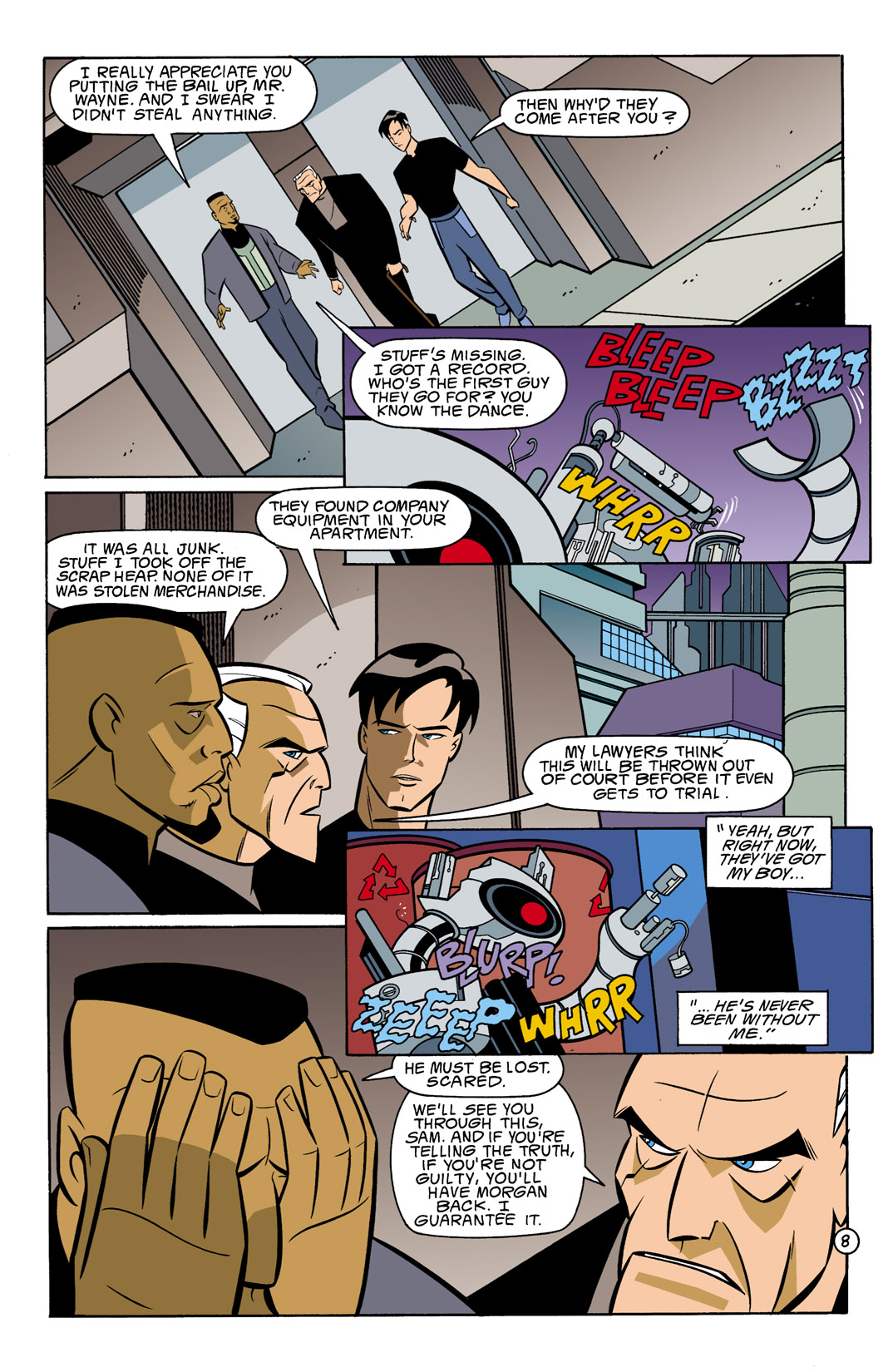 Batman Beyond [II] Issue #10 #10 - English 9