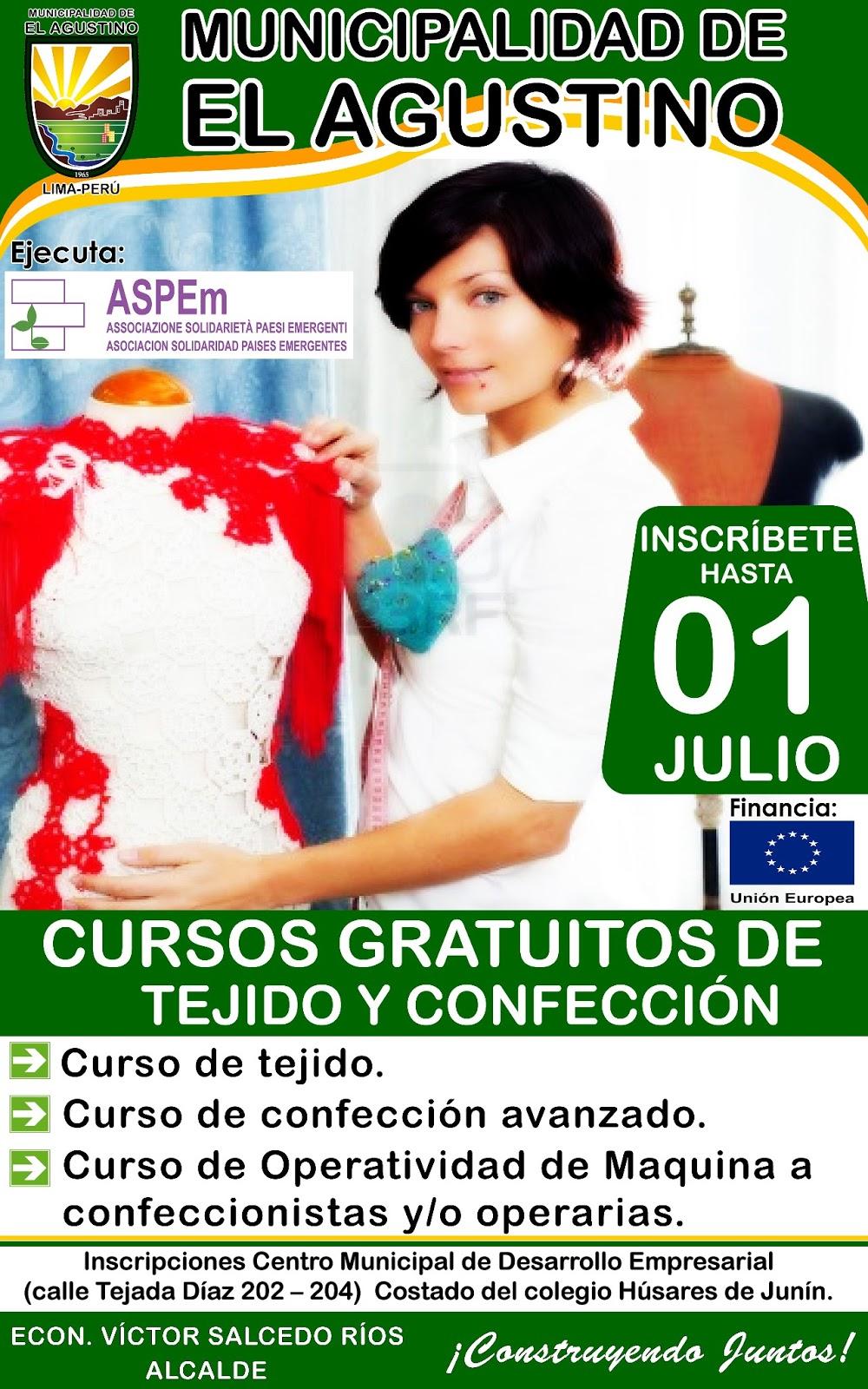 Municipalidad de el agustino lima per cursos for Municipalidad de avellaneda cursos