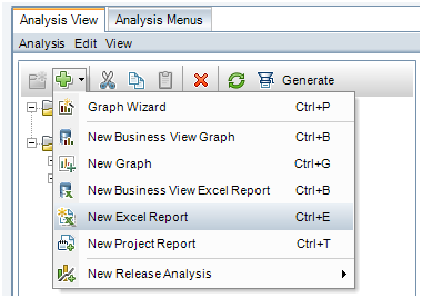 Excel Report ALM