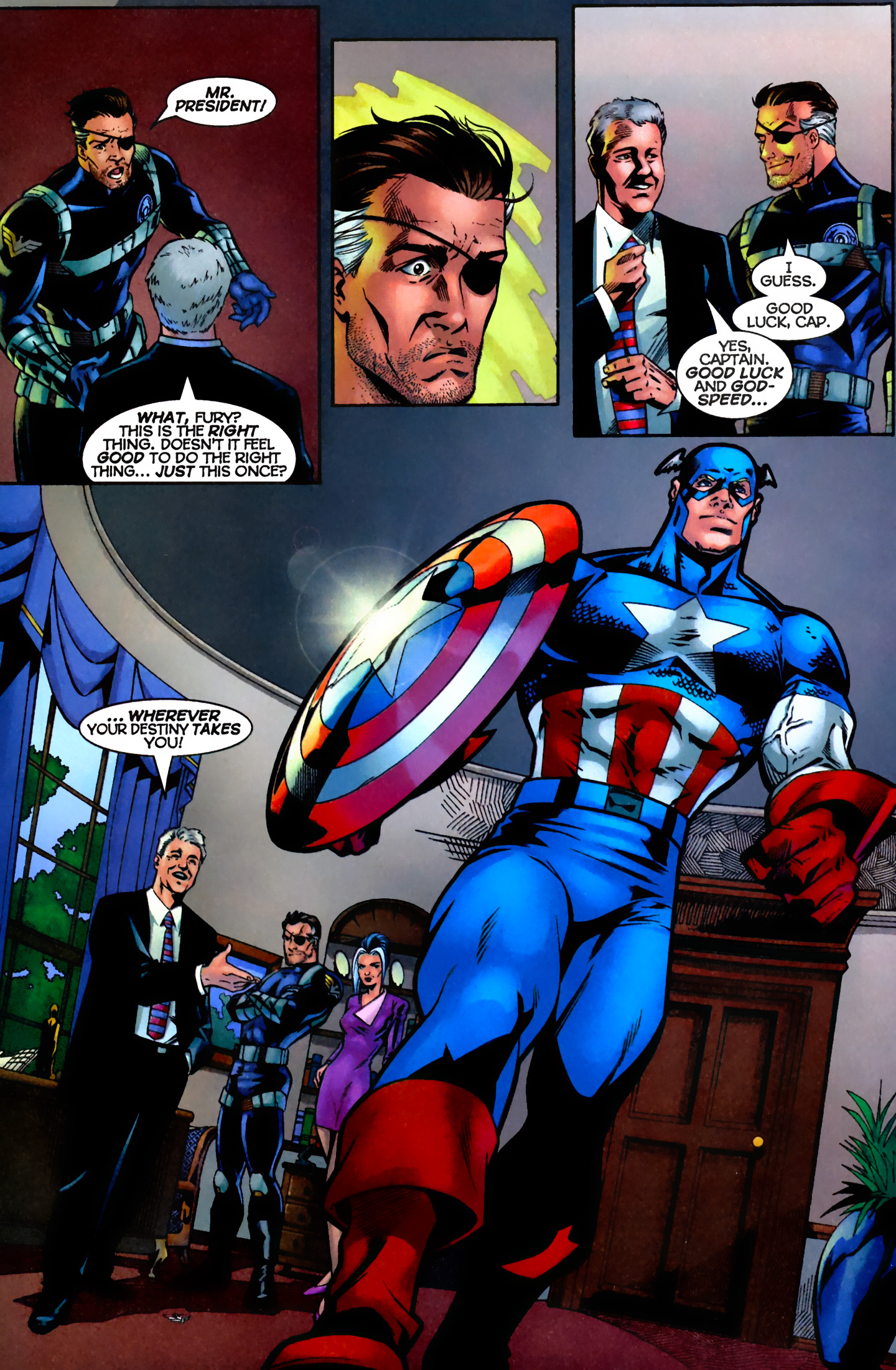 Captain America (1996) Issue #7 #7 - English 18
