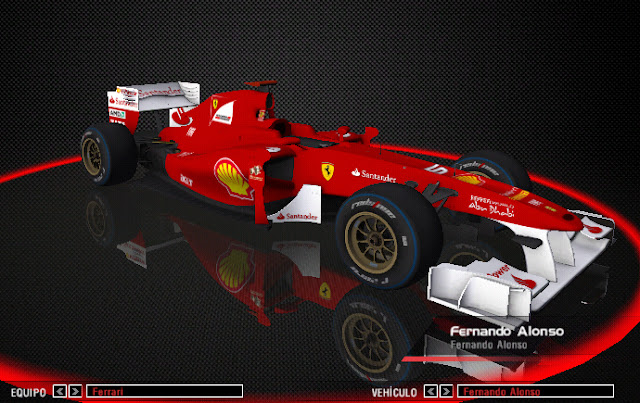 Skin Alonso rFactor Race Room