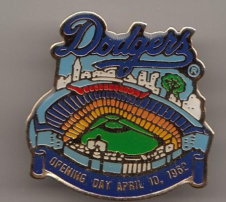 2019 LA Dodgers stadium pin