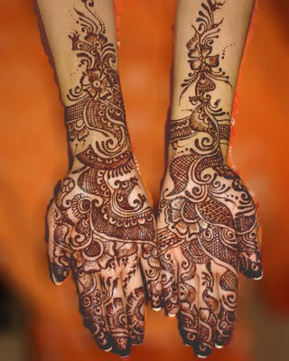 the power of moslem - Arabic mehndi designs