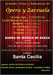 BANDA DE MÚSICA DE BAEZA - SANTA CECILIA 2012