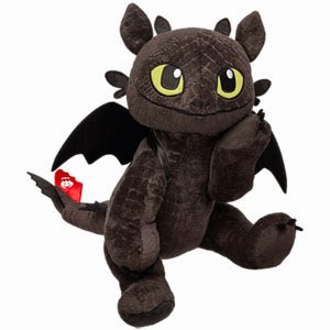 Whoopidooings: Rocking My World Friday - Build-a-Bear Toothless the Dragon