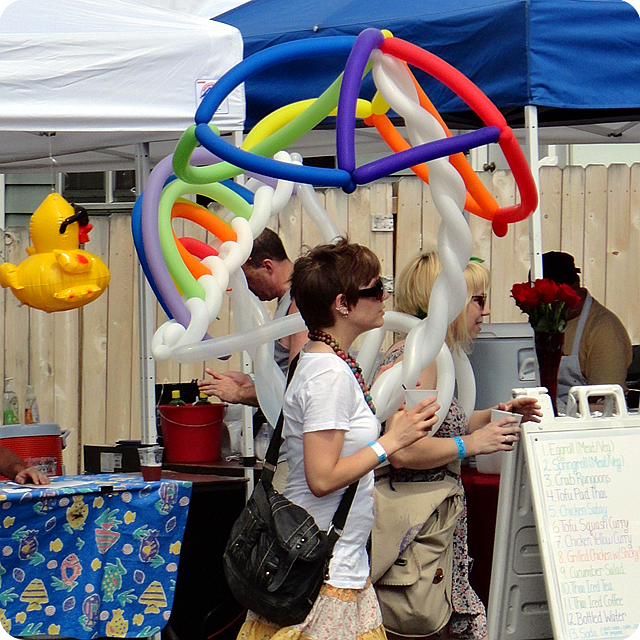 fruit fest lgbt plan b balloon art