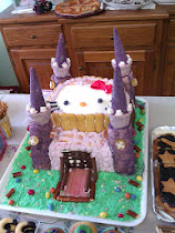 torta castello +Hello kitty