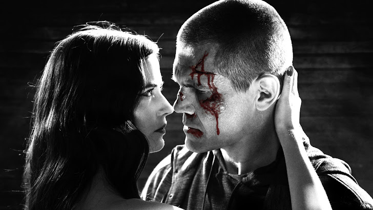 Sin City 2014 Eva Green Josh Brolin