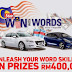 "The Star ""Win with Words"" Contest: 2 Peugeot Cars and Cash Prizes Worth RM400,000+"